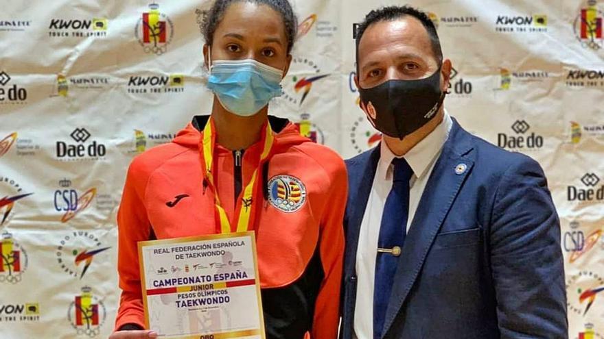 La campeona estatal de taekewondo no puede competir con España