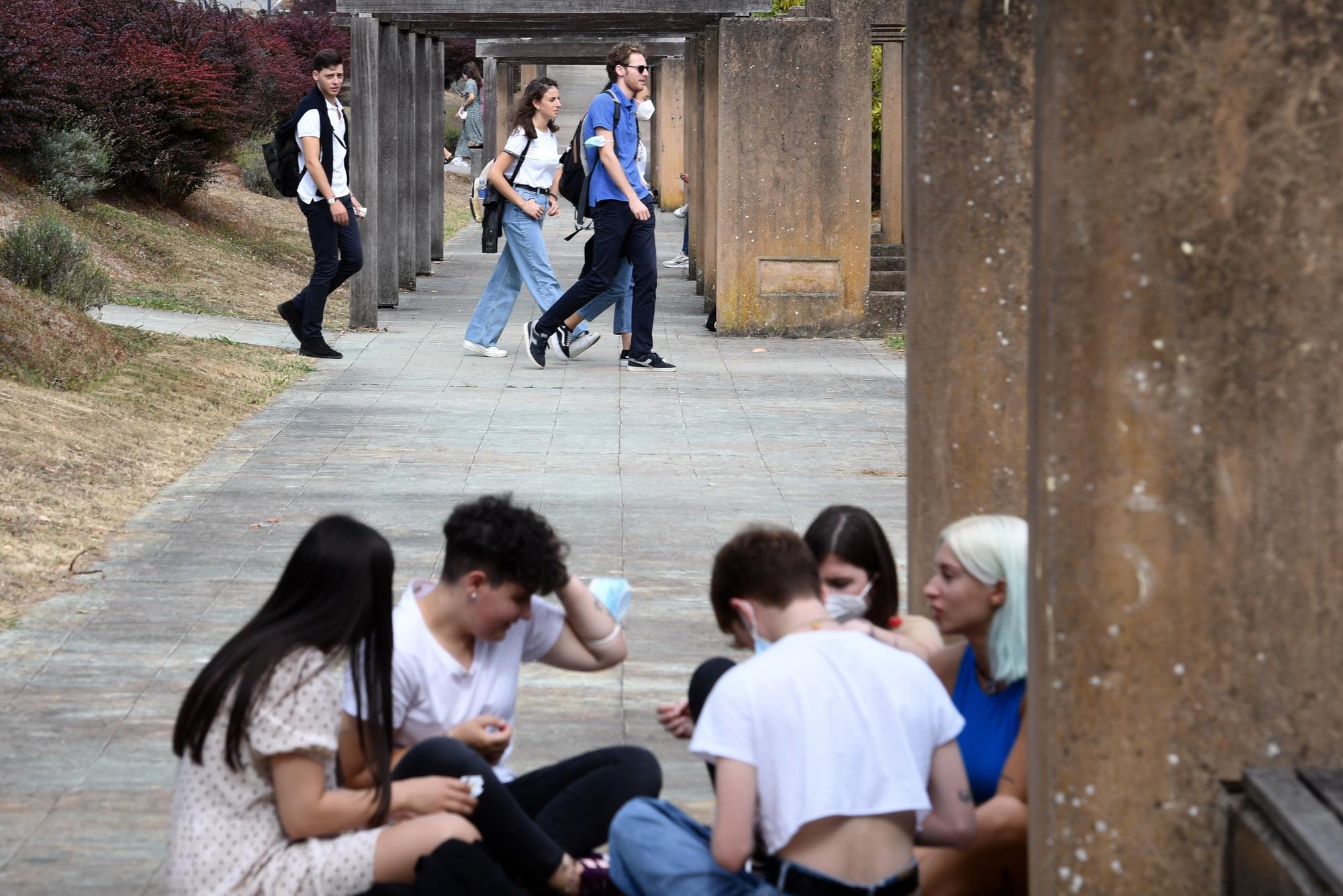 Arranca el curso en el campus de Elviña