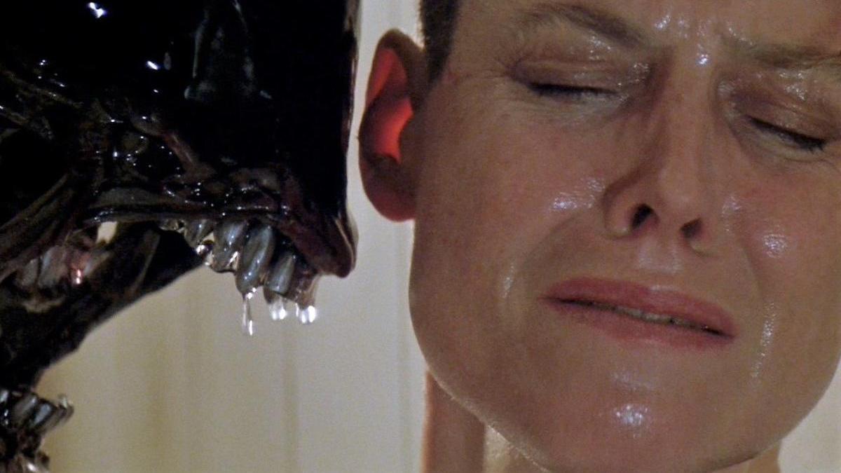 Fotograma de uno de los filmes de 'Alien'.