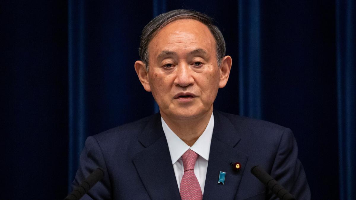Yoshihide Suga.