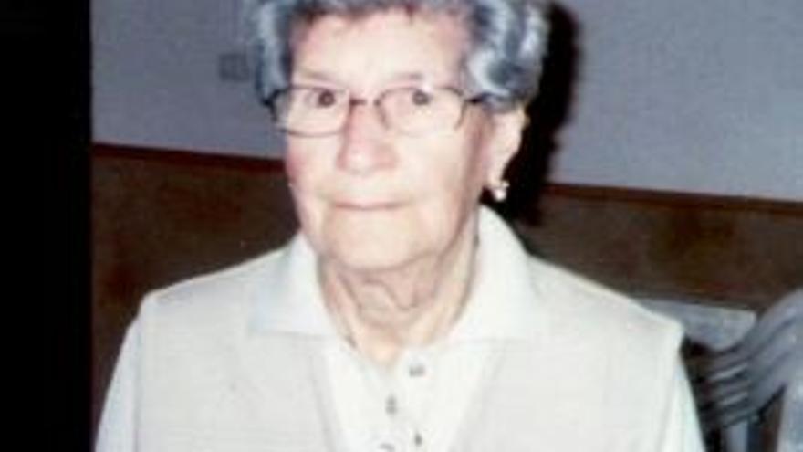 Fallece Maria Frontera Fornés, 'sa mami' de Puigpunyent