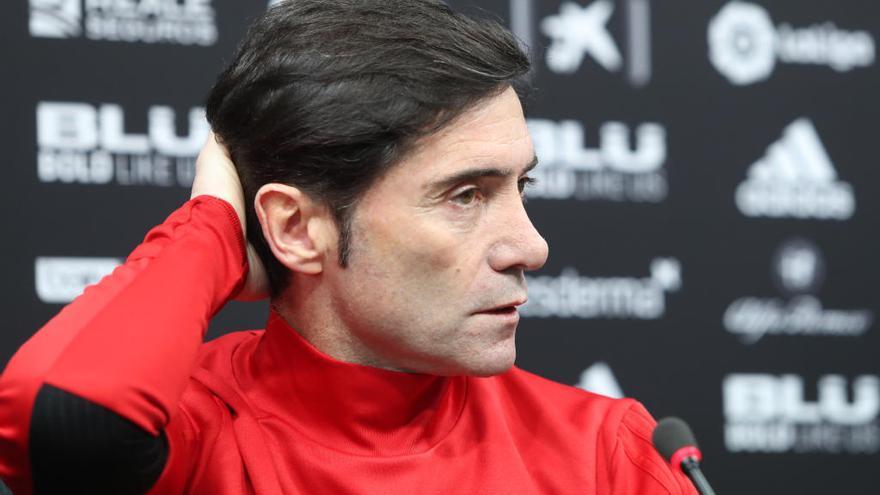 """Marcelino: """"Si el Valencia quiere ampliar mi contrato, así lo haremos"""""""