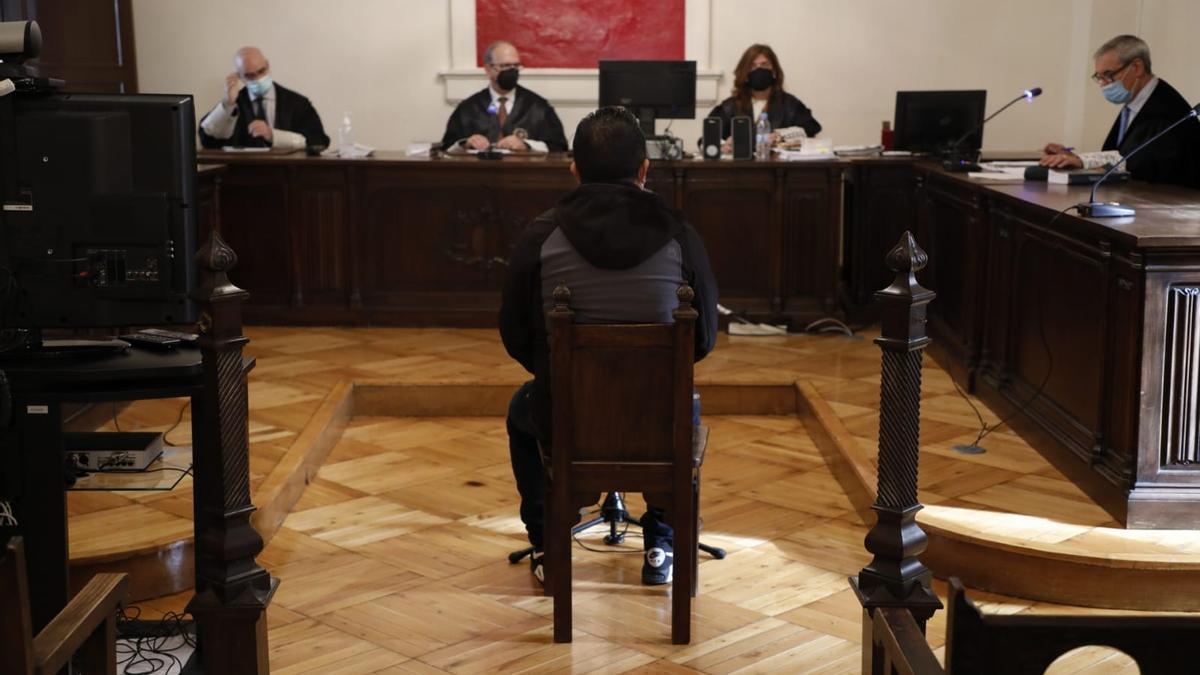 Un momento del juicio en la Audiencia Provincial.