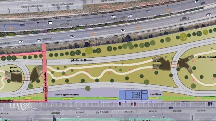 Castelló instalará un Parc Ciclista en la Ciudad del Transporte
