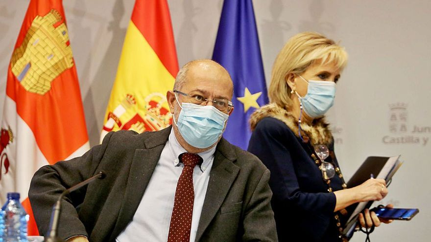 La Junta de Castilla  y León limita las reuniones a tres personas en Burgos
