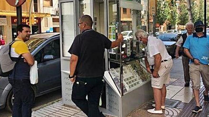 La ONCE vuelve a las calles en Ibiza