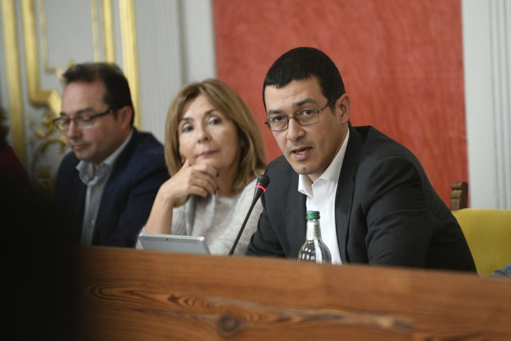 Pleno del Ayuntamiento de Las Palmas de Gran Canaria, el último de 2018