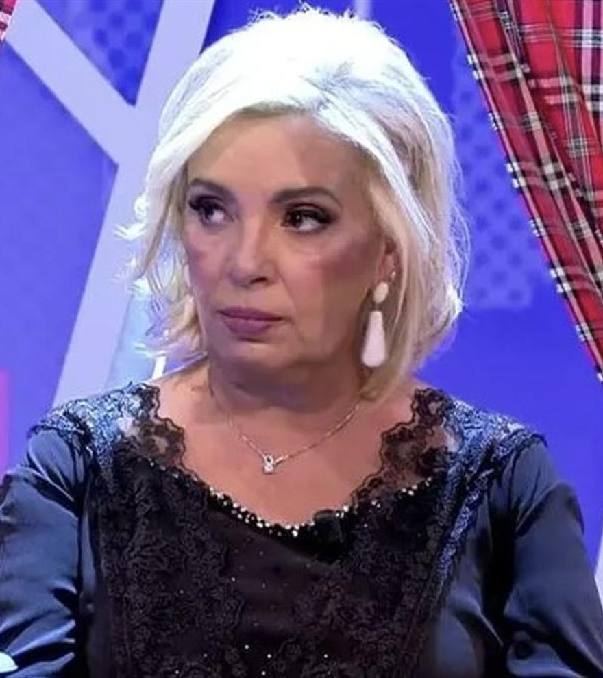 """Carmen Borrego responde sin tapujos a Edmundo Arrocet: """"Quizás no estabas cuando visitábamos a nuestra madre"""""""