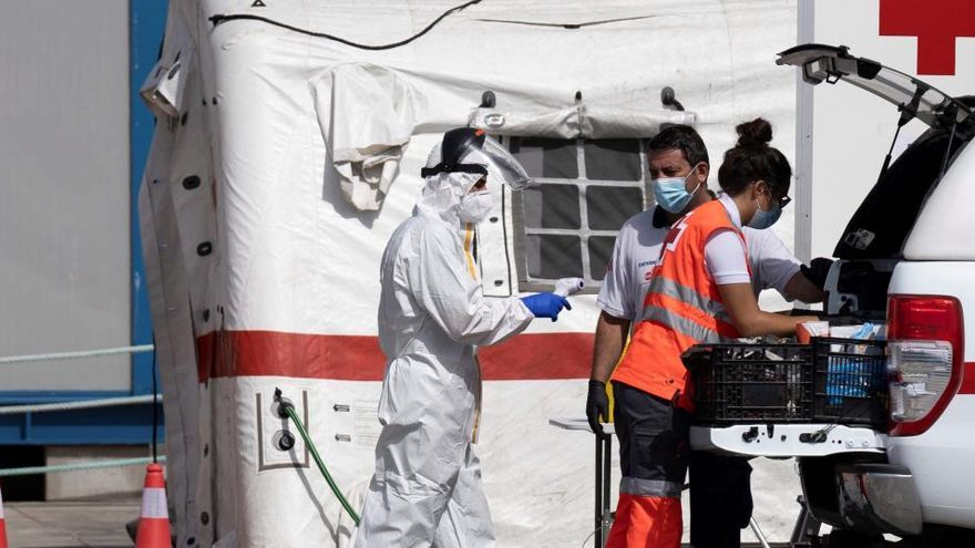 Rescatados en un día más de 500 inmigrantes en las distintas costas españolas