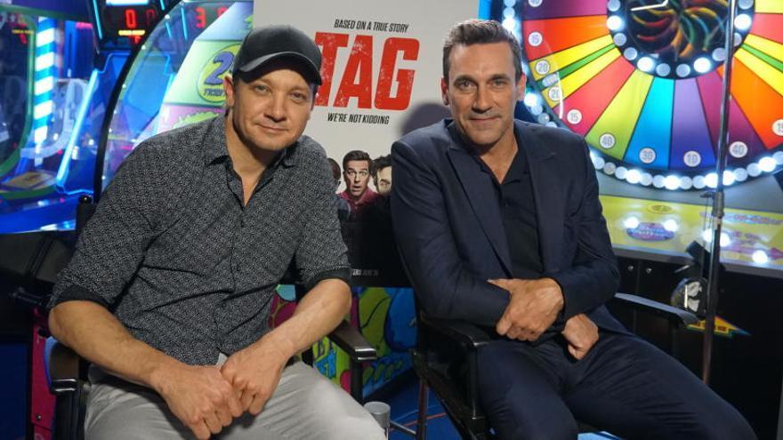 """Jeremy Renner y Jon Hamm """"persiguen"""" las amistades de la infancia en """"TAG"""""""