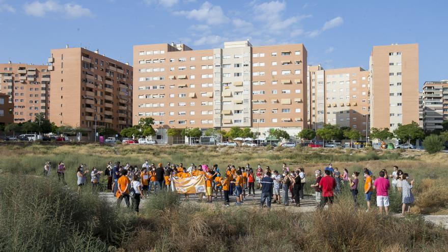 Unidas Podemos exige a Barcala un centro sociocomunitario para el PAU 2 de Alicante