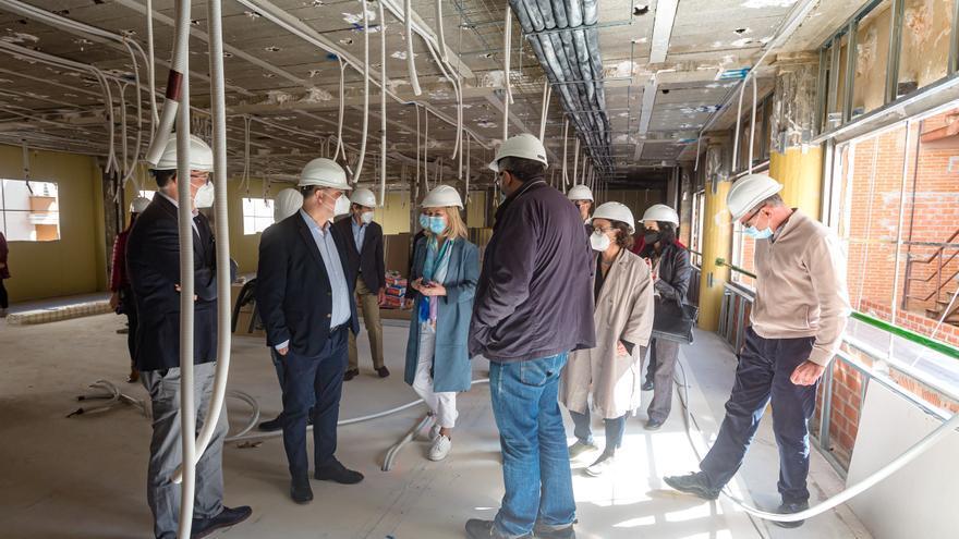 Las obras del nuevo Palacio de Justicia de La Vila finalizarán en octubre