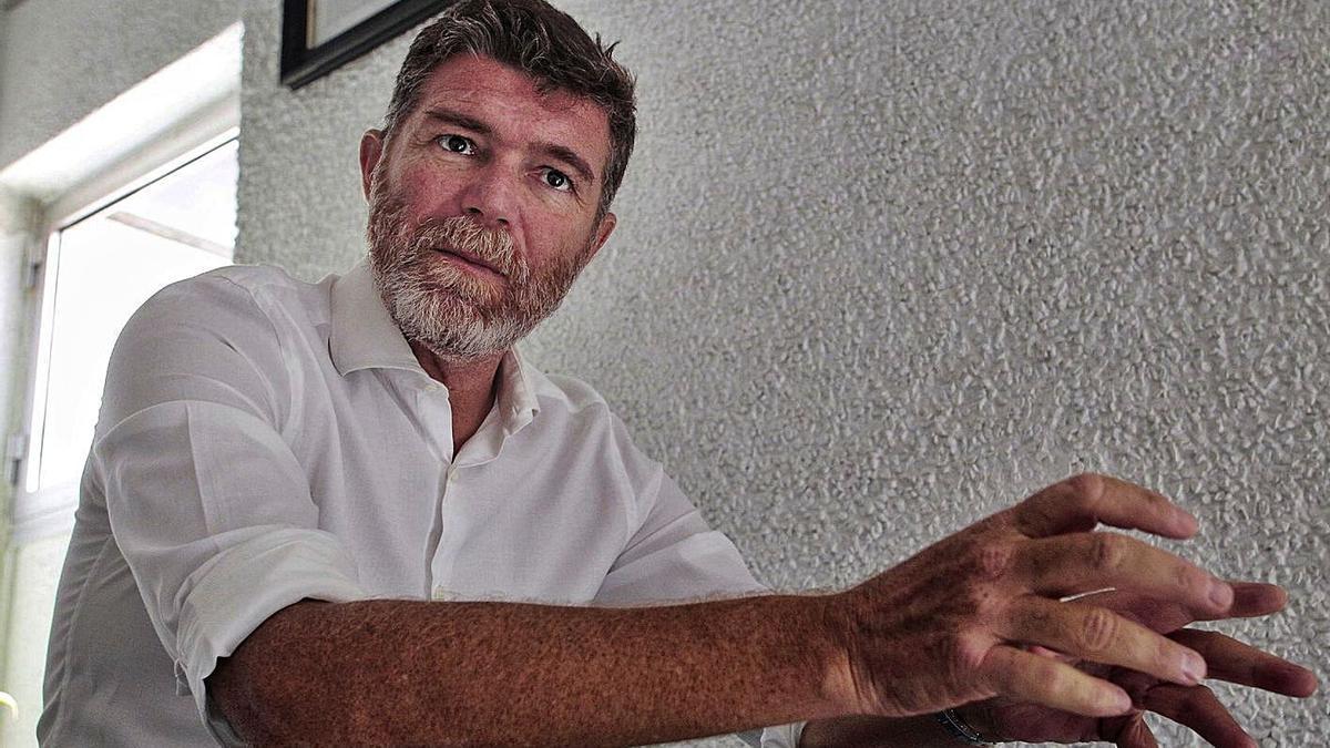 Guillermo Díaz Guerra, primer teniente de alcalde y concejal de Servicios Públicos.