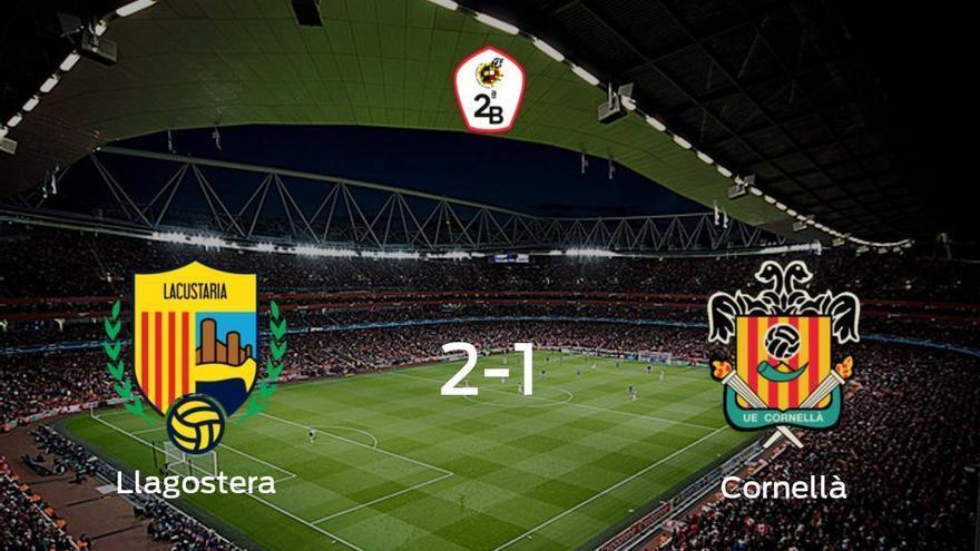 El Llagostera gana 2-1 al Cornellà y se lleva los tres puntos