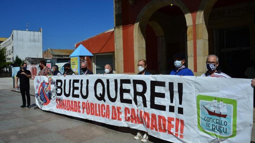 Cangas y Bueu protestarán para exigir atención médica presencial