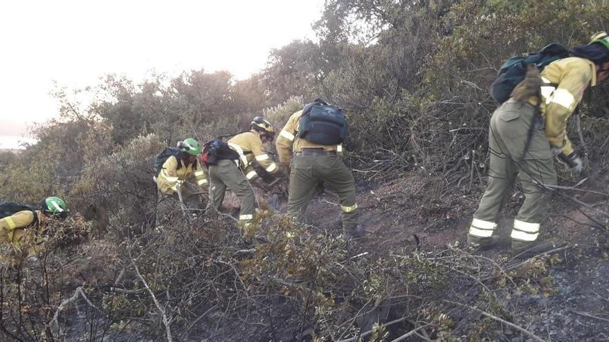 Controlado el incendio forestal de Belalcázar