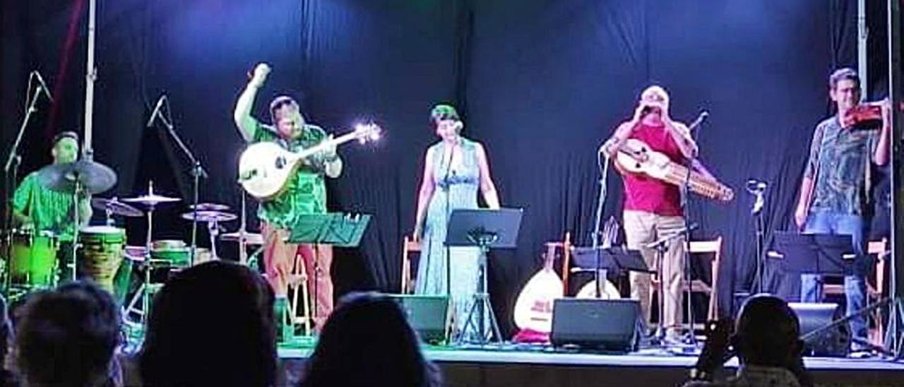 El grupo Eduard Navarro-Ensemble Duna.   LEVANTE-EMV