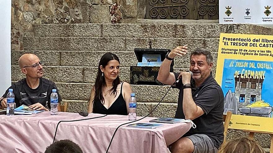 Eva Serra i Manel Mora imaginen la recerca d'un tresor amagat a Capmany