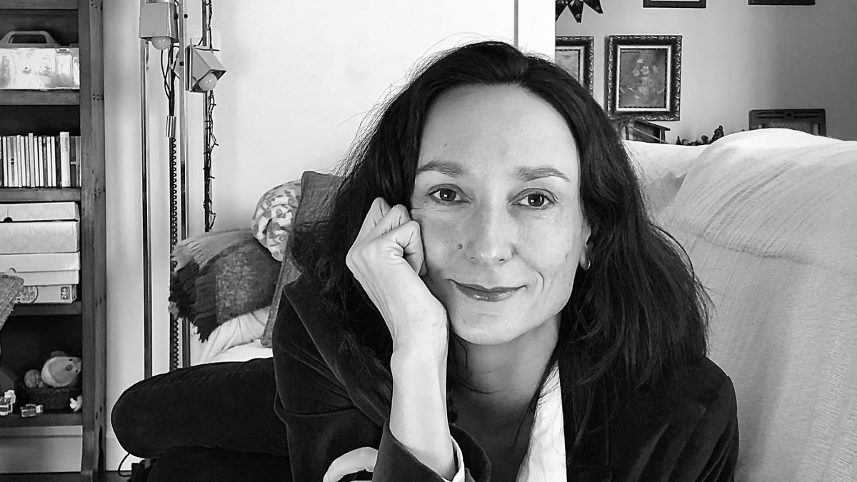 La escritora zaragozana Eva Puyó.