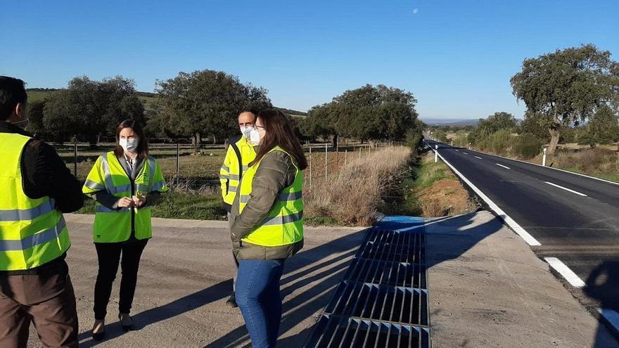 La Junta invierte cerca de 72.000 euros en la mejora de la seguridad vial en Los Blázquez