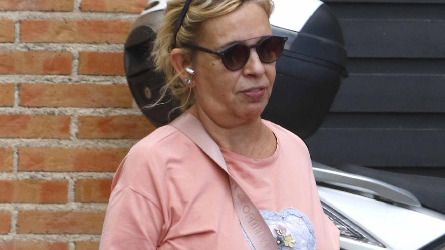 """Carmen Borrego se abre en canal y cuenta que necesitó ayuda psicológica: """"El especialista flipó conmigo"""""""