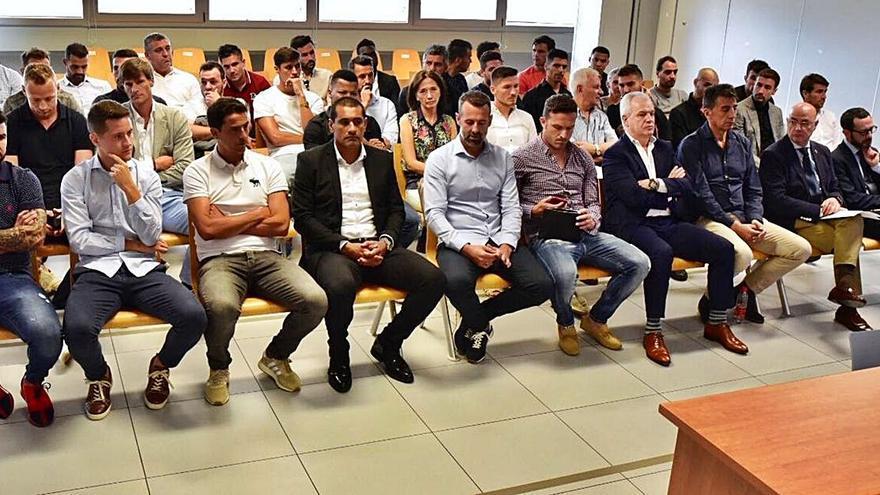 Absueltos todos los acusados por el presunto amaño del Levante-Zaragoza