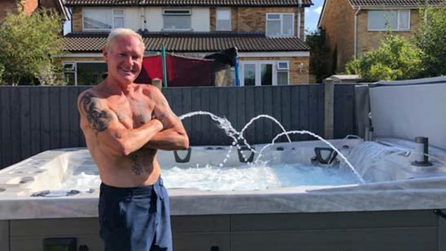 Paul Gascoigne disfruta de su nueva vida alejado de adicciones