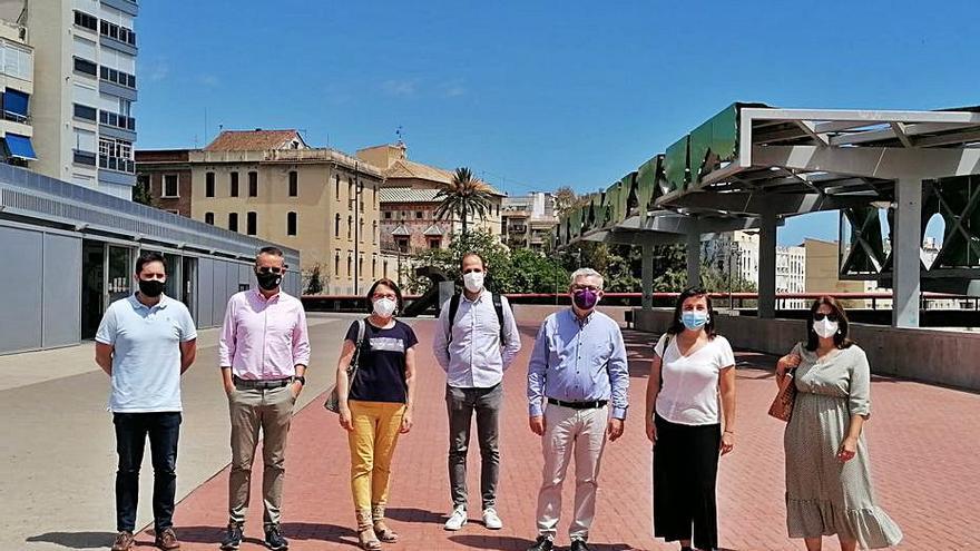 València se interesa por la política de Urbanismo y Vivienda de Gandia