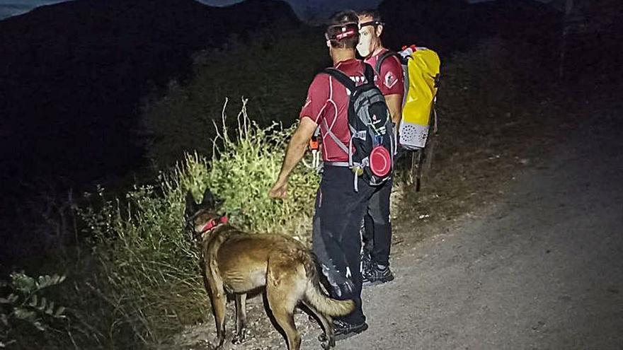 Angustiosa búsqueda de un senderista asturiano de 38 años en el Barranc de l'Infern