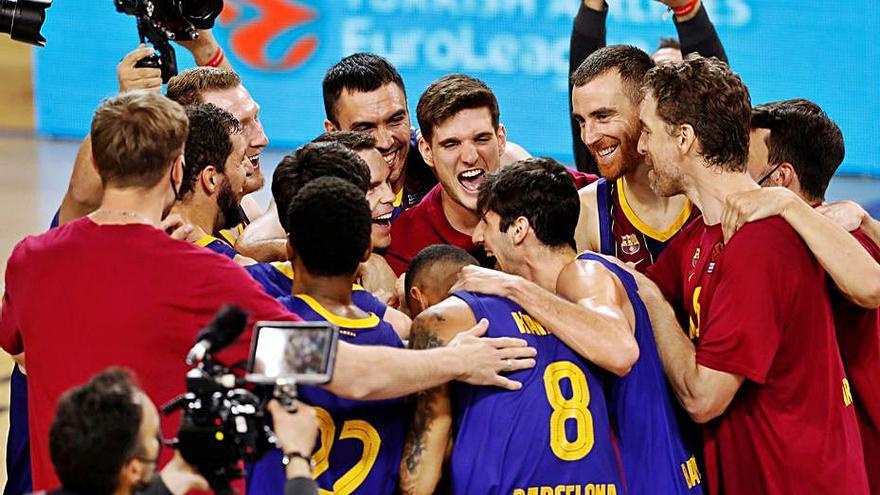 El Barcelona vuelve a la        'final four' y el Real Madrid  se queda en el intento
