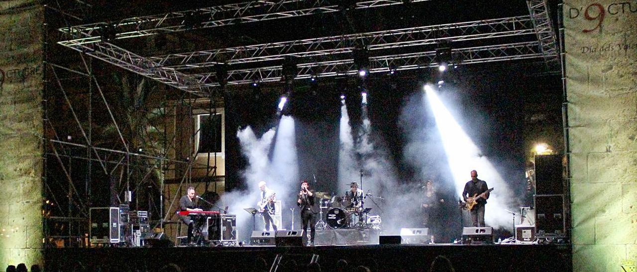 Uno de los conciertos de la programación cultural de Dénia para el puente