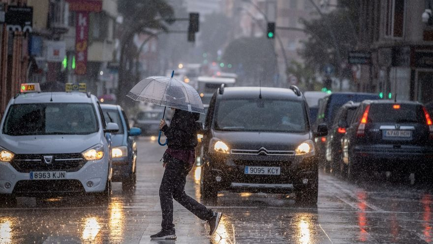 Canarias registra el mes de enero más tormentoso desde 2014