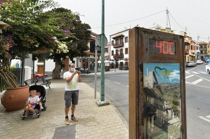 26-08-2020 TEROR. Calima y altas temperaturas. Fotógrafo: ANDRES CRUZ    26/08/2020   Fotógrafo: Andrés Cruz