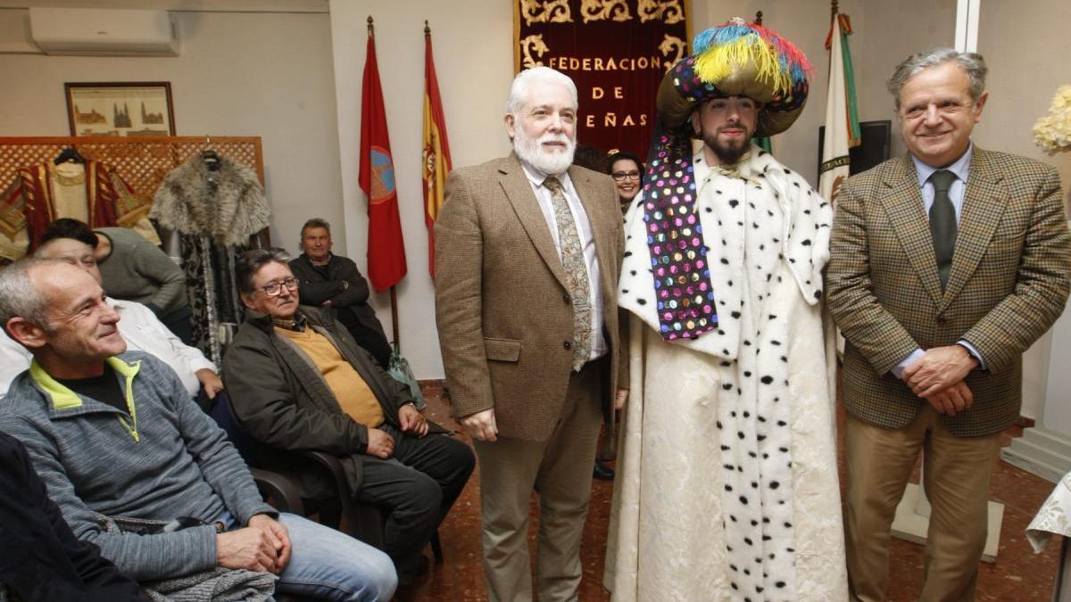 José Antonio Peñarroja Muñoz encarnará este año al rey Baltasar en la Cabalgata
