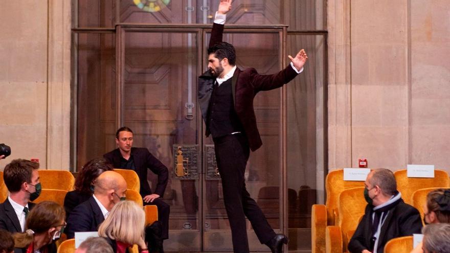 Actuación del bailaor cordobés Rubén Molina