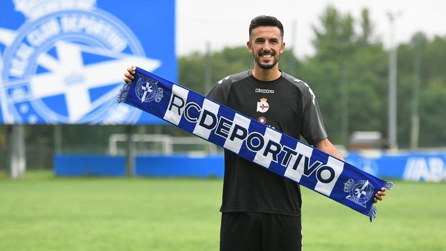 Alberto Quiles, nuevo jugador del Deportivo