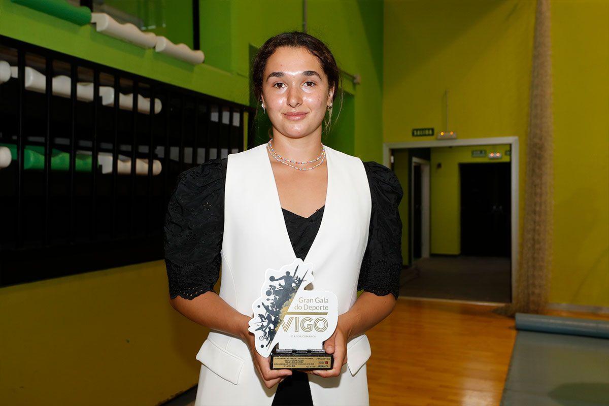 Sara Urrea, jugadora de voleibol
