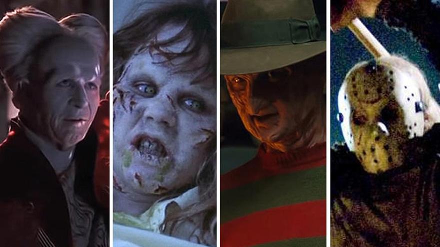Este es el verdadero rostro de los personajes de terror más famosos