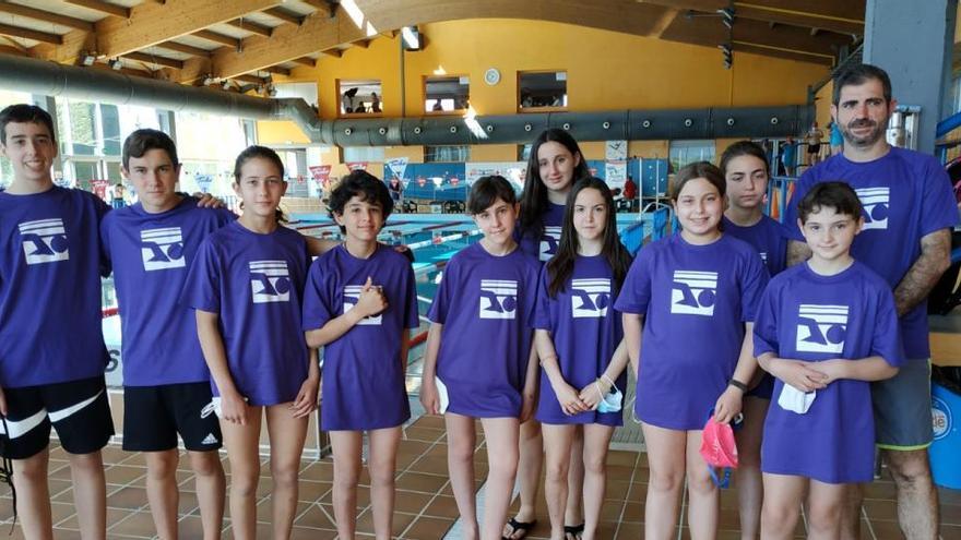Els nedadors i nedadores del Port de la Selva, a Puigcerdà