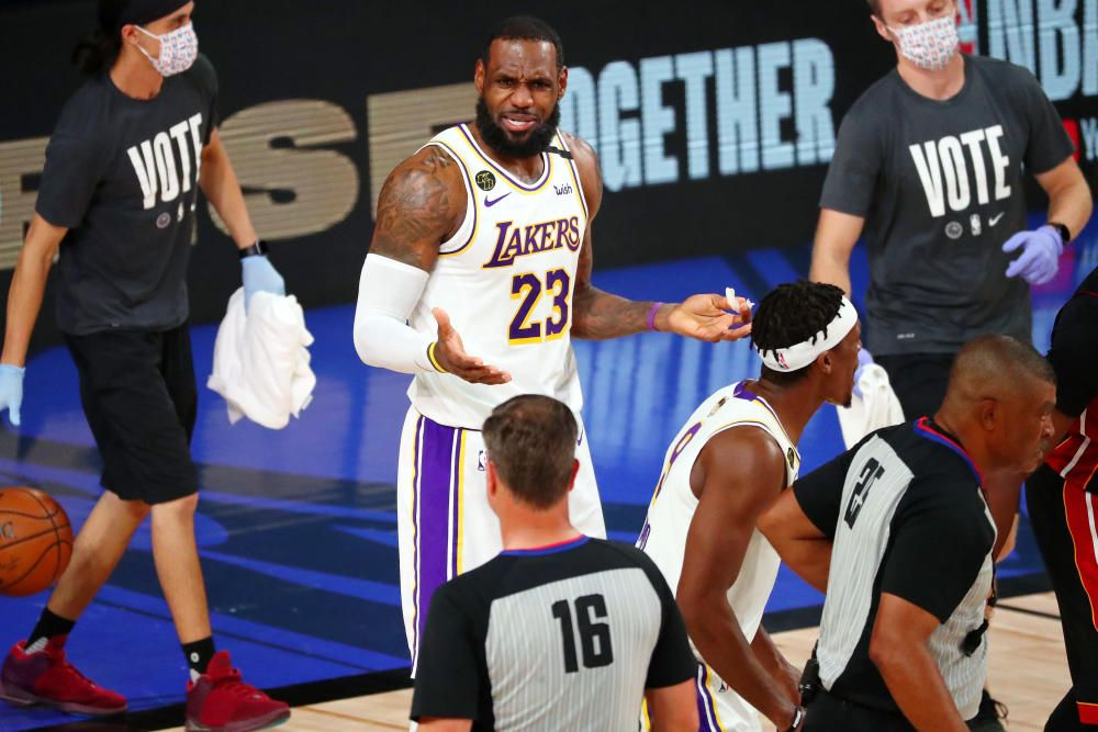 NBA: Lakers conquistan el anillo ante Miami Heat