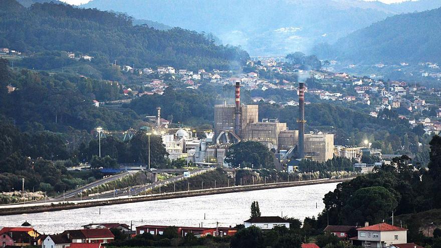 Mosquera y el comité de fábrica de Ence descartan la adscripción al Puerto de Marín