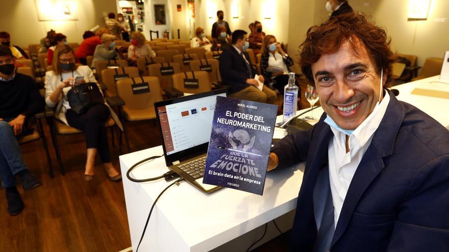 El neuromarketing de Mikel Alonso llega a Zaragoza