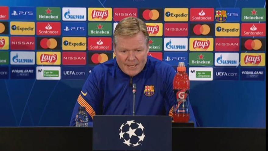 "Ronald Koeman: ""Nos han marcado goles que no podemos encajar"""