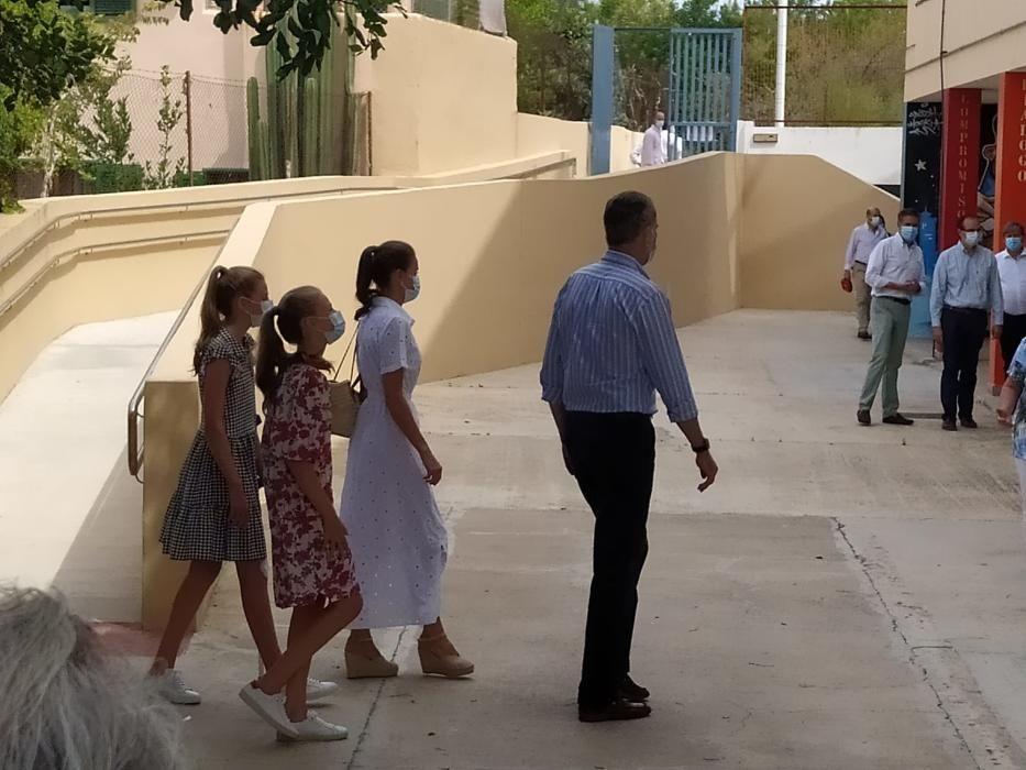 Könige besuchen soziales Projekt Naüm in Palma