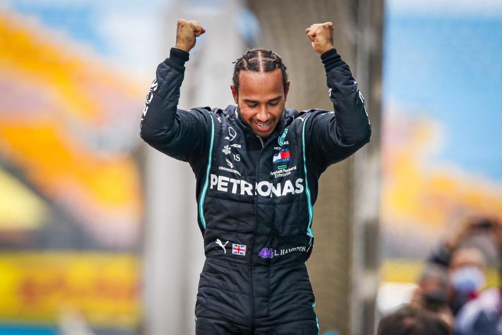 Hamilton, campeón del mundo de F1 | Noviembre