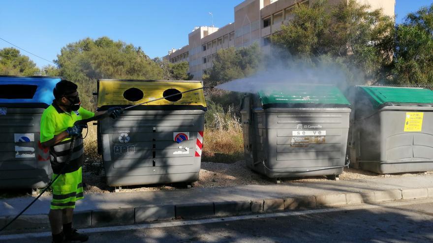 Proponen movilizaciones de los trabajadores de la recogida de basuras y limpieza viaria y playas para verano en El Campello