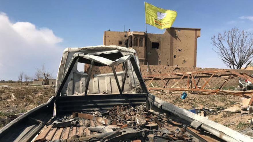 """Las fuerzas kurdas anuncian el fin del """"califato"""" del Estado Islámico en Siria"""
