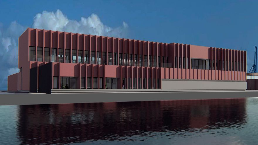 Un edificio emblemático acogerá a la Guardia Civil en el Muelle Pesquero