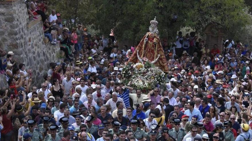 Todo preparado para la romería de la Fuensanta en Murcia