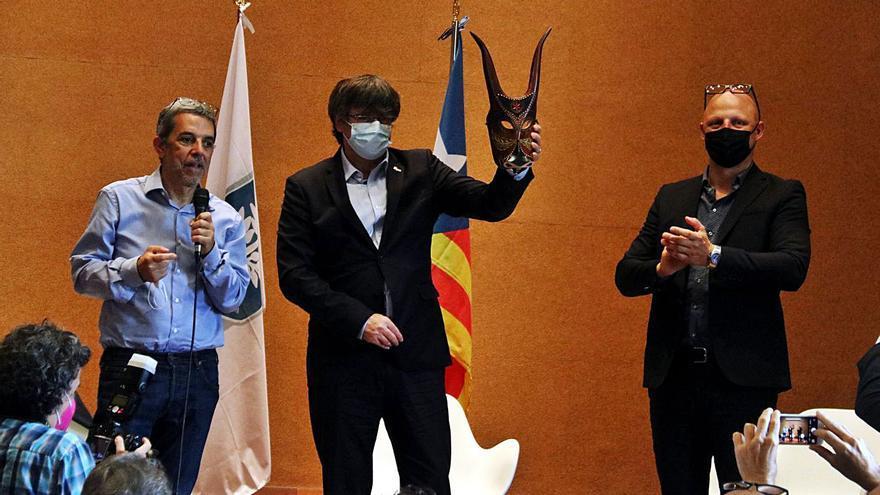 Els independentistes sards s'aboquen amb Puigdemont en una trobada